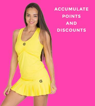 Accumulate points and discounts