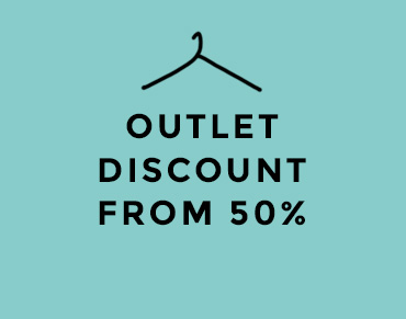 OUTLET DISCOUNT FROM 50%